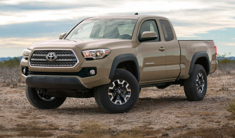2016 Toyota Tacoma To Feature Built-In GoPro Camera Mount
