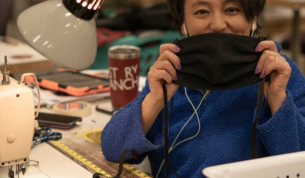 Mystery Ranch Sews Face Masks for Medical Personnel – The Bozeman Brand Helps Their Local Community