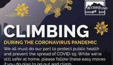 The Access Fund Releases Guidelines For Climbing During the COVID-19 Pandemic