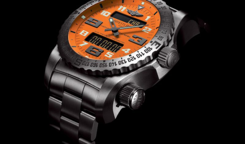 Breitling's Emergency 2 Watch Could Save Your Life Someday