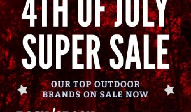 Buy Now! Three Hot 4th of July Sales