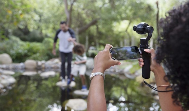DJI's Osmo+ Gives the Selfie Stick a Much Needed Upgrade