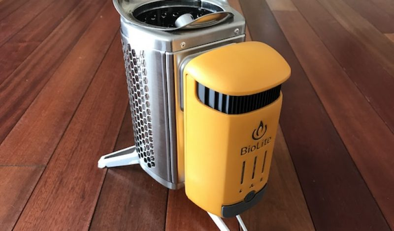 First Impressions: BioLite's CampStove 2