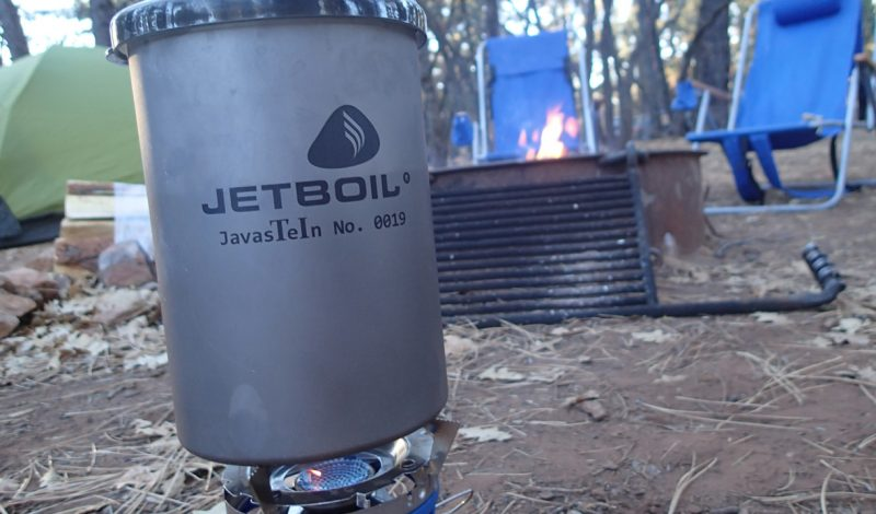 Jetboil Javastein provides quality camp coffee