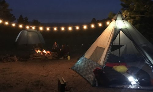 First Look: Wenzel's Shenanigan Teepee