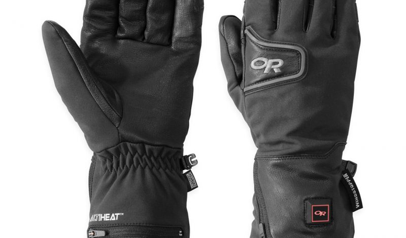Powered Gloves Keep Fingers Warm in Frigid Conditions