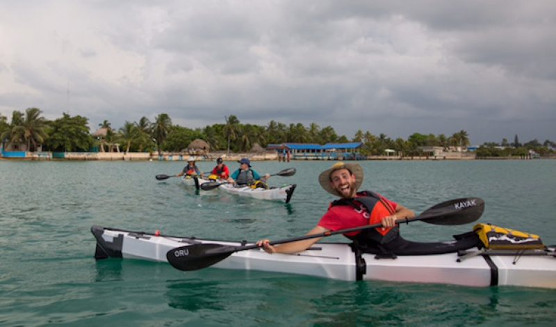 First Unsupported Single Kayak from Cuba To US Underway