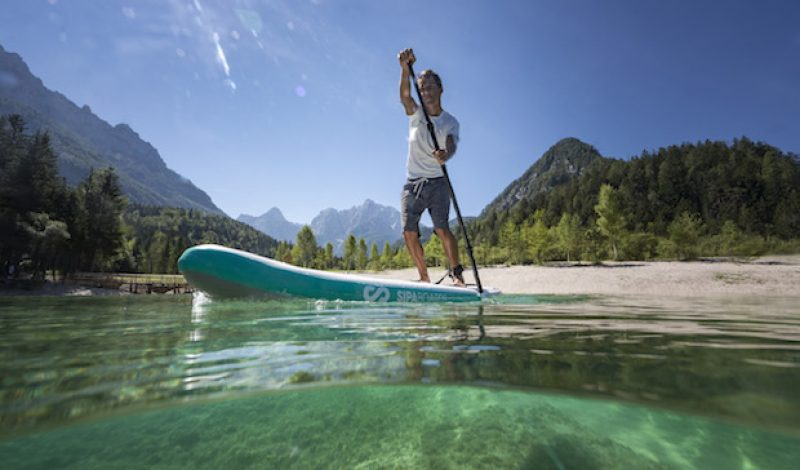 Meet the World's First Self-Inflating Stand-Up Paddleboard