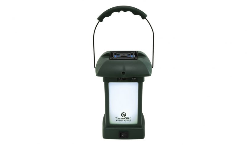 Block bugs with ThermaCell's Mosquito Repellent Outdoor Lantern