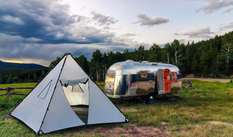 The Buffalo Tent Offers Shelter in All Kinds of Weather