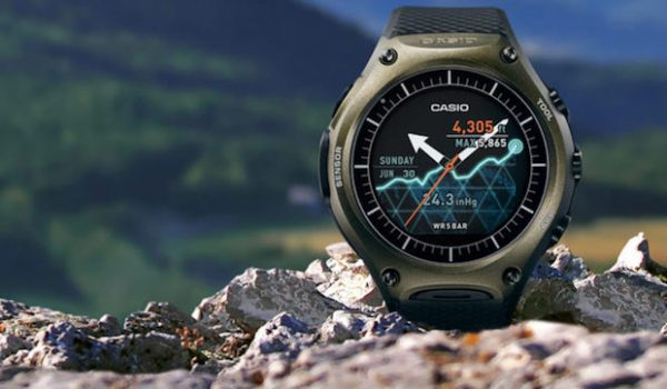 Casio Updates Outdoor Smartwatch with Onboard GPS