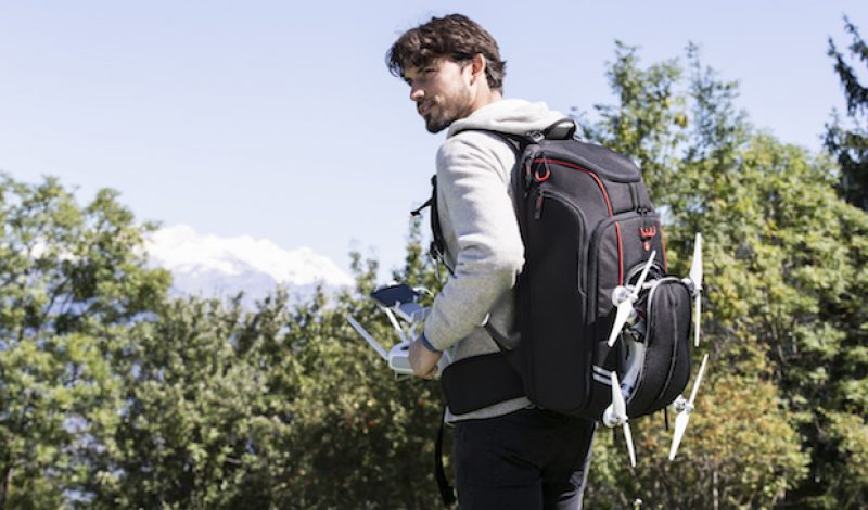 Manfrotto Introduces a Backpack Designed to Carry a Drone