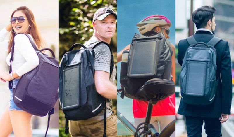 Energy Sac is a Smart Backpack Designed for Work and Play