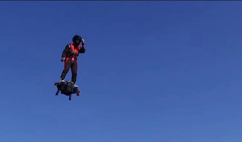 The FlyBoard Air Gives Us a Glimpse of the Future