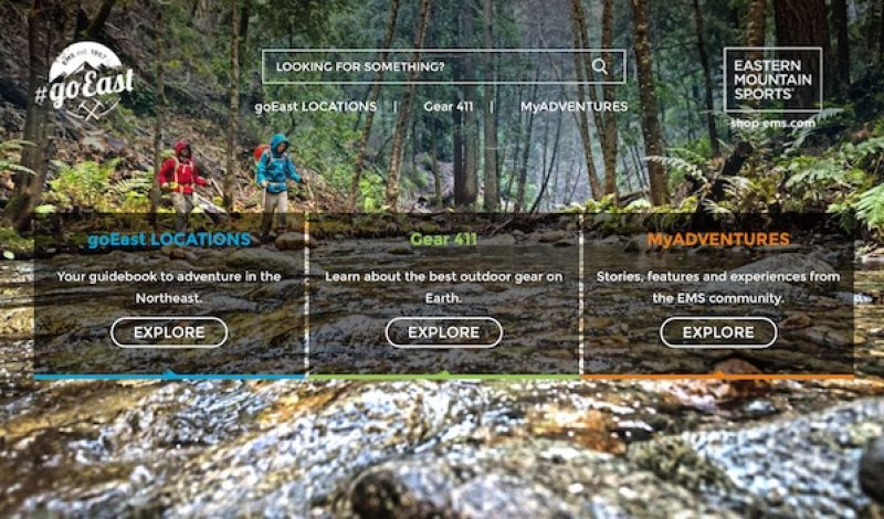 Eastern Mountain Sports Launches New Outdoor Community