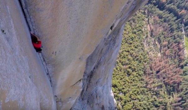 Video: Alex Honnold Climbing El Cap without Ropes