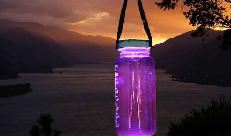 Turn Your Water Bottle into a Lantern with This Clever Product
