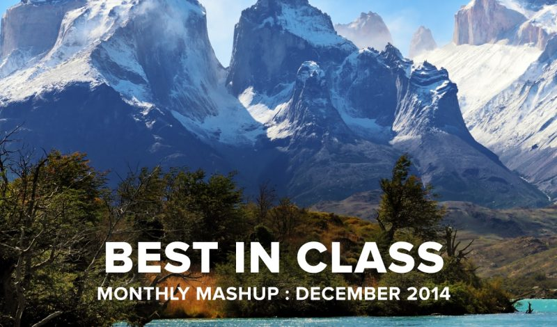 Best in Class : Monthly Mashup