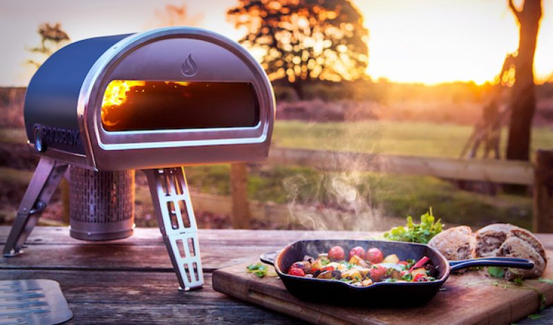 Make Pizza at Your Campsite with the Roccbox