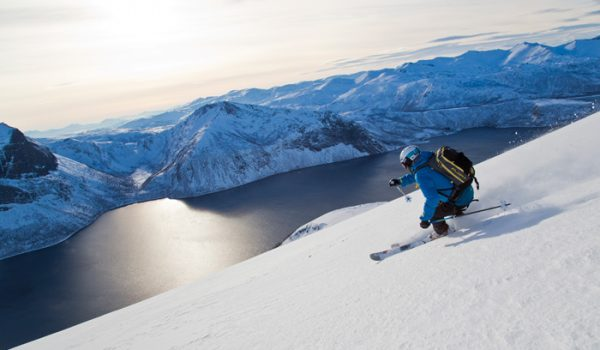Testing Grounds: Ski Touring Senja Island Norway