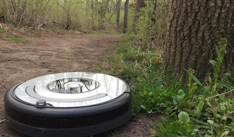 IMBA teams with Roomba Maker to Create Trail-Building Robot