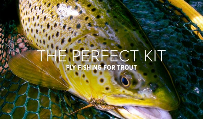 The Perfect Kit for Fly Fishing for Trout