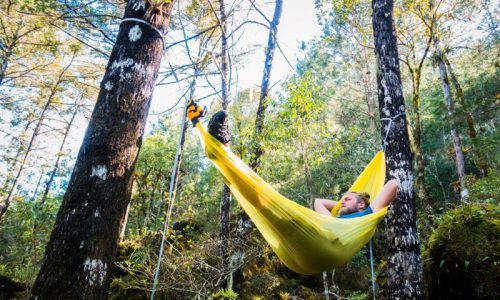 New see-through ultralight hammocks pack crazy small